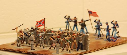 Civil War Diorama