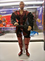 Movie Masters General Zod at the Mattel booth at San Diego Comic-Con International