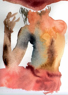 Gesture painting from May 2011