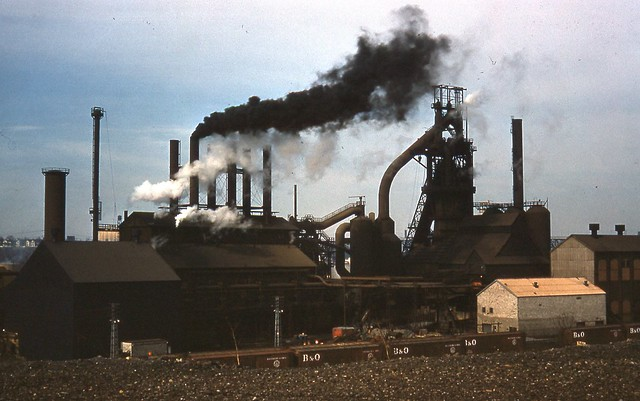 Steel Mill Cleveland Ohio March 26, 1961