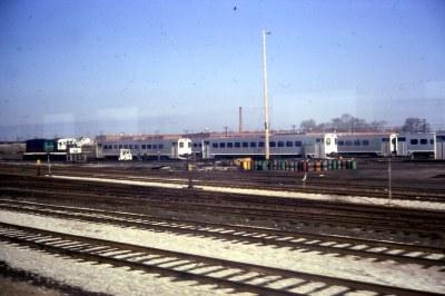 19680510 03 GO Transit Mimico Yard