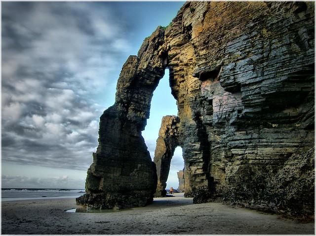 Playa de las Catedrales, Galicia Foto de http://101lugaresincreibles.com