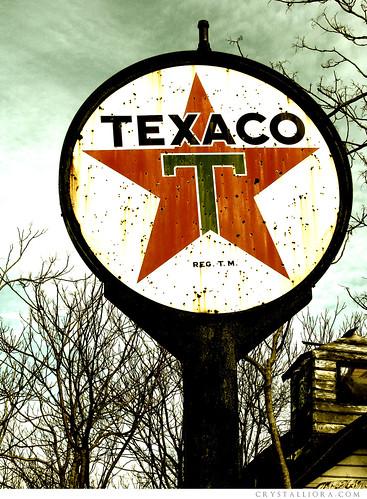 Vintage Signs - Texaco