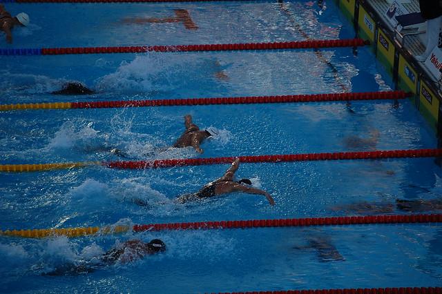Čavić vs Phelps at Roma 2009