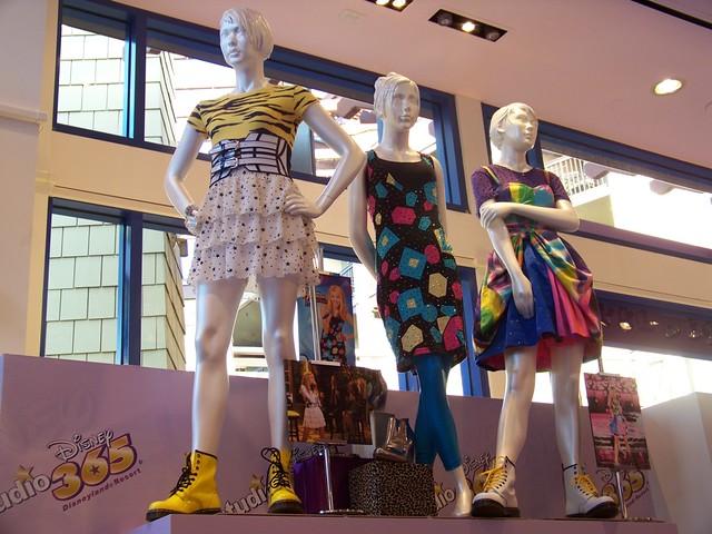 Hannah Montana Clothing Display At Disney Studio 365 In Downtown Disney Flickr Photo Sharing