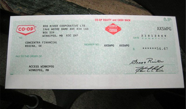 Red River Co-Op Rebate Cheques Are In The Mail