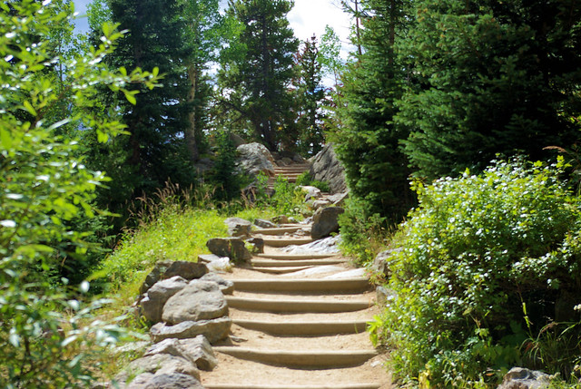 Trail to Nymph, Dream & Emerald Lakes, Rocky Mountain National Park, Colorado, September 3, 2007