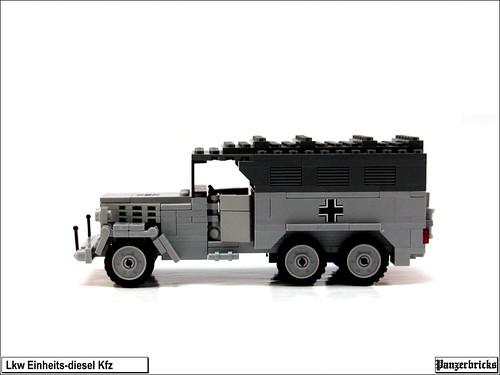 Camión Einheits-Diesel