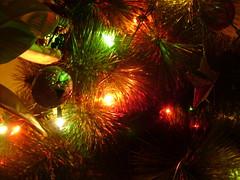 New Year Tree Lights