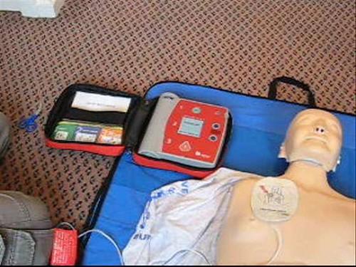 AED Practice Dummy