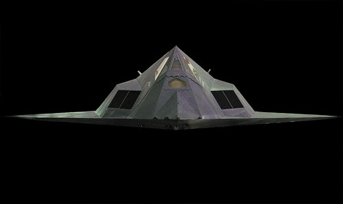 Stealth Fighter, Frontal View