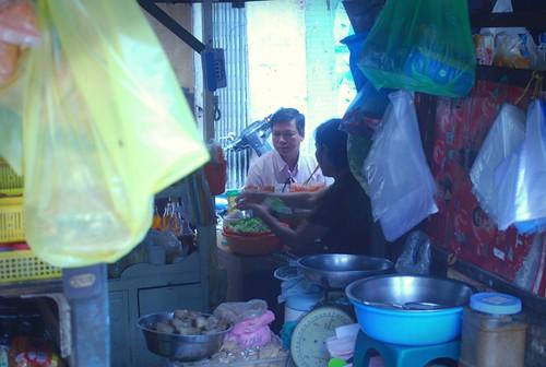 Ho Chi Minh - Breakfast stall by i_am_orbiting