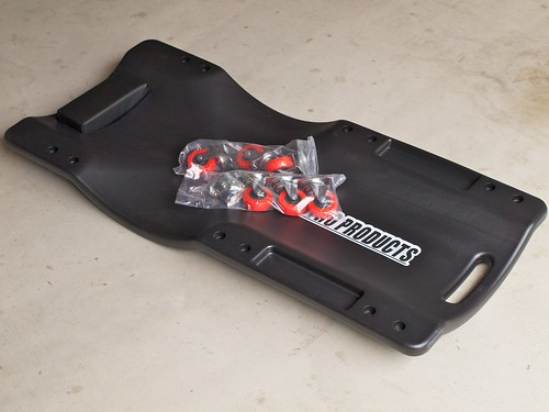 Astro Products Plastic Creeper Black