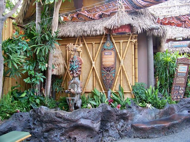 The Enchanted Tiki Room Gardens