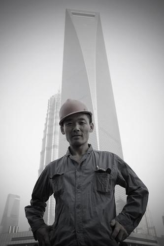 The face of Shanghai's skyline