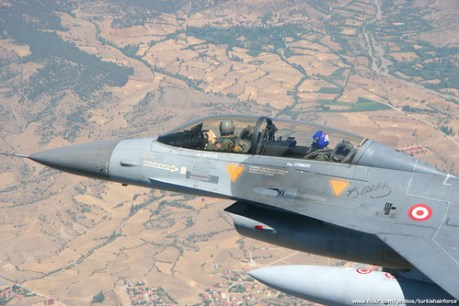 TuAF F-16 Fighting Falcon