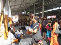 Resting place at Pamba Ganapathy