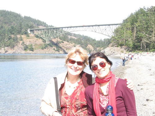 090815. me and mom, deception pass.
