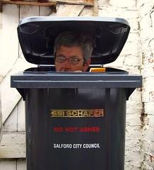 Day 241 of 365 - spy in the bin
