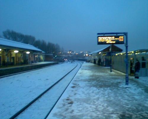 Stalybridge Station, platform 2