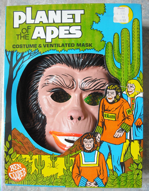 1974 Ben Cooper Planet of the Apes Halloween Costume