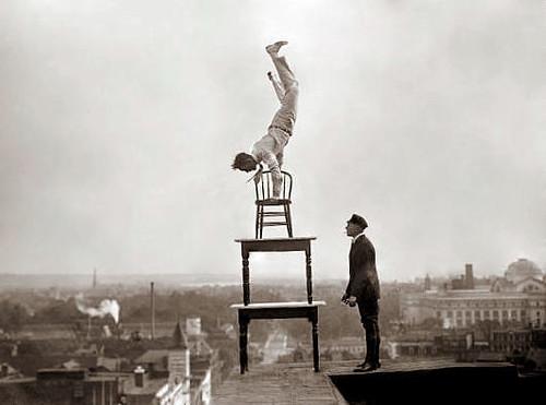 life is just one big balancing act