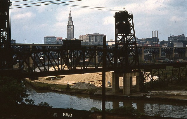 Cleveland from W 14th Sept 9 1962