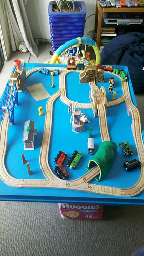 Someone tell me this isn't an EPIC Thomas layout, I frickin' DARE you