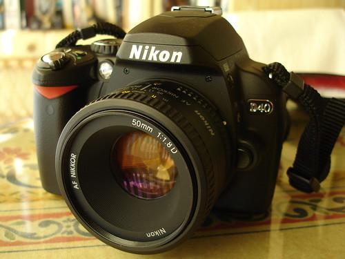 Nikon D40 + Nikkor 50mm 1.8D