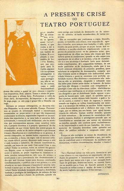 Ilustração Portuguesa, No. 917, September 15 1923 - 23 by Gatochy
