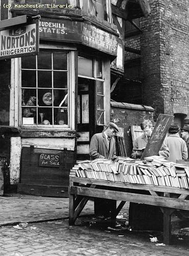 Shudehill Market Bookstall, 1958