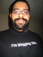 I'm blogging this.