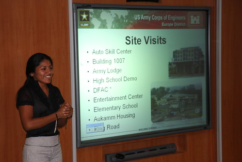 """""""AMIE students complete summer internships in Europe"""" by U.S. Army Corps of Engineers via Flickr Creative Commons."""