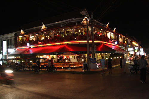 Bar Street in Siem Reap