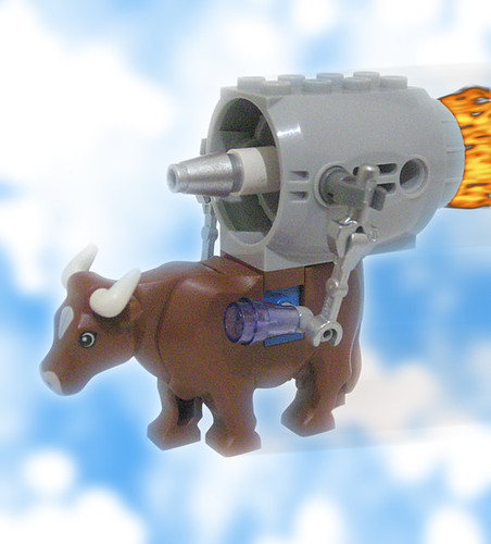 Behold, the cow of the future!