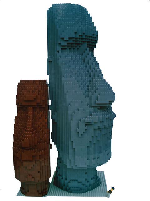 LEGO Moai - minifig