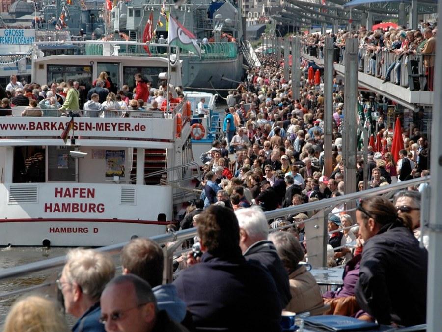 Hamburg Hafengeburtstag, foto door lumowerkx | Standort Hamburg