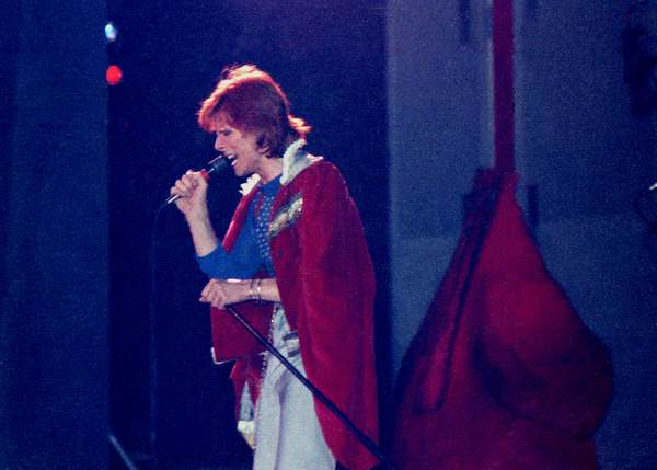 David Bowie Diamond Dogs Tour 1974 Charlotte Park