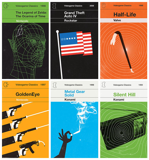 games as vintage paperbacks