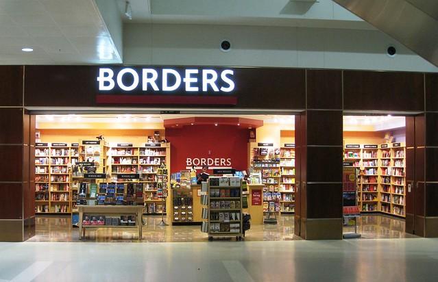 Borders bookstore Detroit Airport