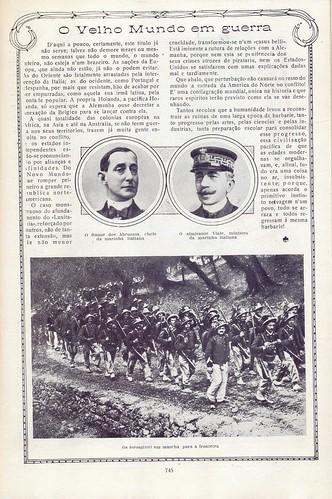 Ilustração Portugueza, No. 486, June 14 1915 - 10 by Gatochy