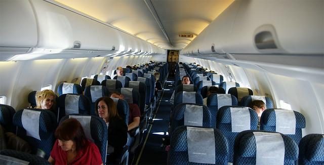 Aero Mexico 737 700 Cabin Flickr Photo Sharing