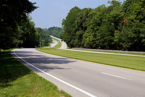 US 40 in Putnam County, Indiana