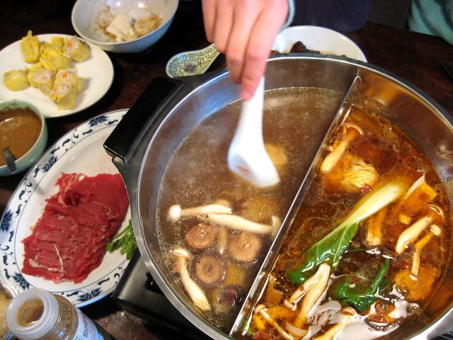 Mongolian hotpot 火锅