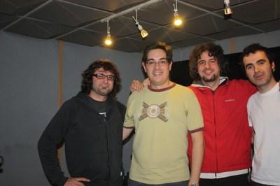 Con Joe y Dani de Le Punk