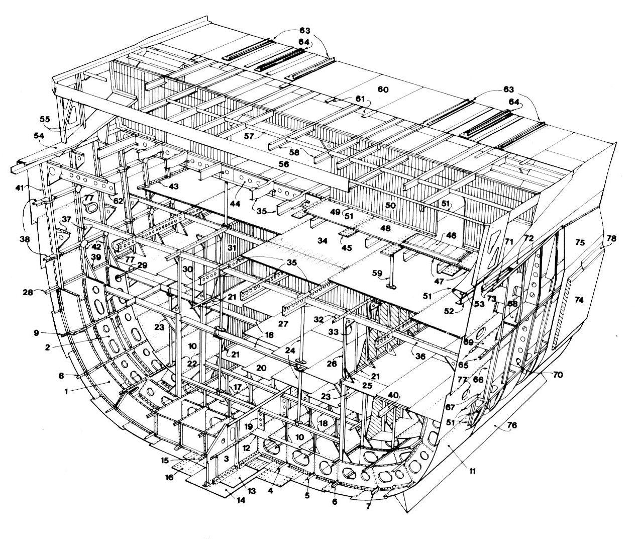 Structure Of A World War Ii Cruiser