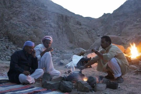 Bedouin Tea Parties in the Desert