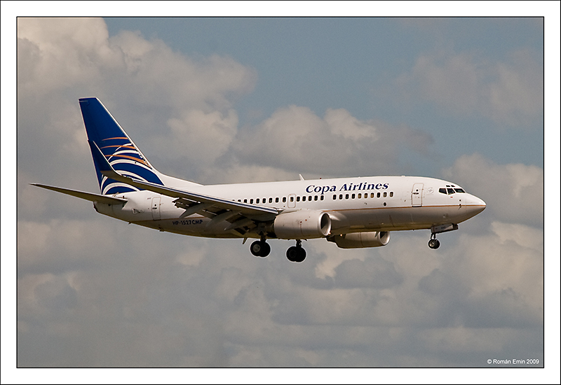 B737 de Copa Airlines