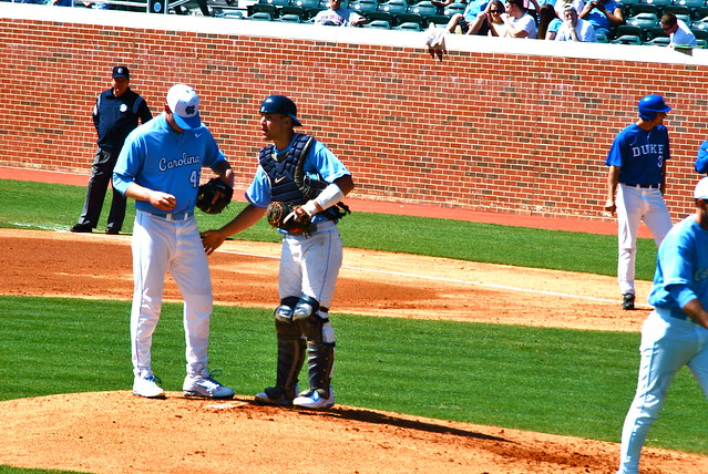 baseball: duke @ carolina, game 3