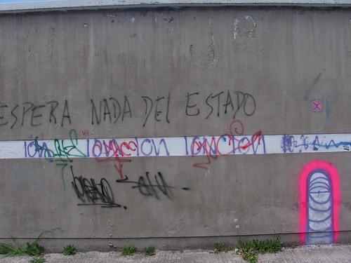 north Quito (near Parque Carolina), Ecuador: Worm